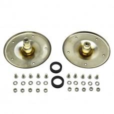 Опоры барабана 2шт (нержавейка) для стиральной машины Whirlpool 480110100802
